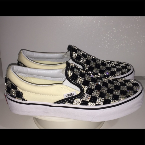 517497cd1fc65 Checkered vans shoes NWT